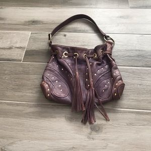 BULGA Butterfly leather bag